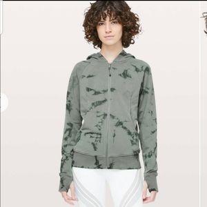Lululemon Scuba Hoodie Light Cotton Fleece Shibori